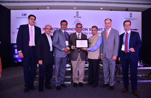 "Sahajanand Technologies Recognised at CII's ""Industrial Innovation"